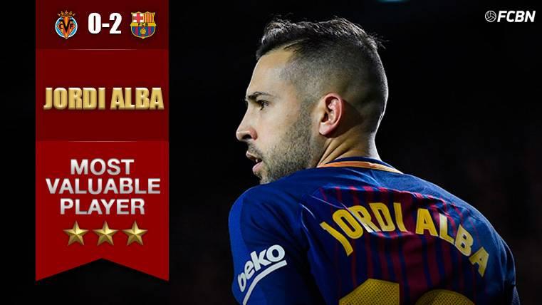 MVP: Jordi Alba, un lateral izquierdo con alma de delantero