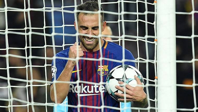 Paco Alcácer encuentra su sitio en el Barça de Valverde
