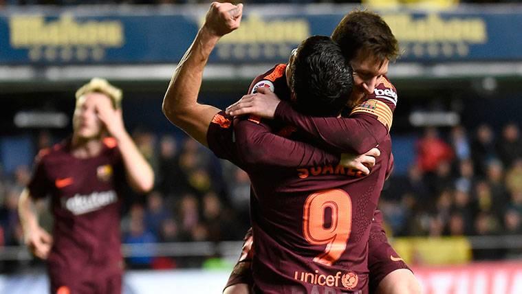 Las bonitas palabras de Luis Suárez para Alcácer y Messi