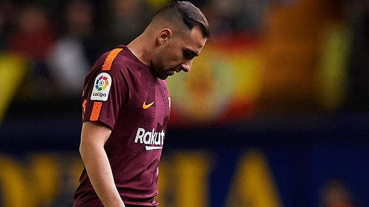 A Alcácer se le acaban los adjetivos para definir a Messi