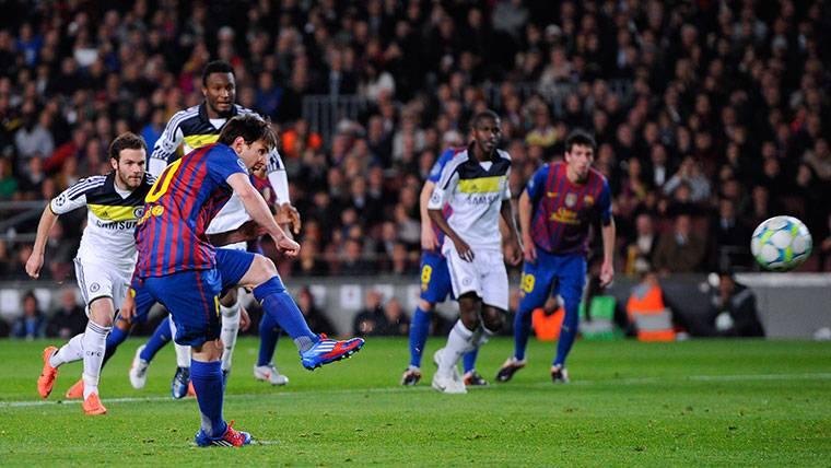 BESTIA NEGRA: Messi nunca pudo marcar al Chelsea en 8 partidos