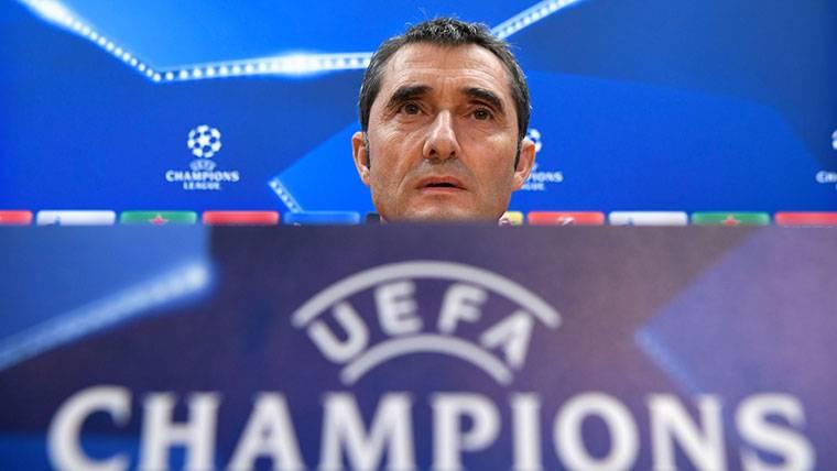 """Valverde, sobre el Chelsea: """"Nos tocó uno de los más difíciles"""""""