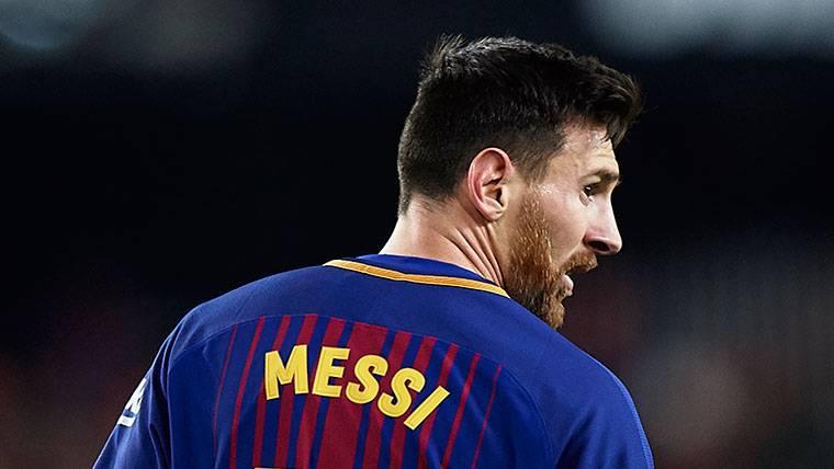 Mensaje del Bayern de Múnich a Leo Messi en las redes sociales
