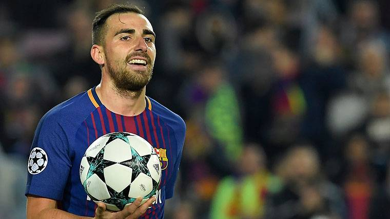 Paco Alcácer se convierte en el gran 'tapado' del Barcelona