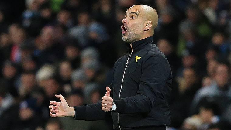 Pep Guardiola, contundente sobre la pelea de Old Trafford