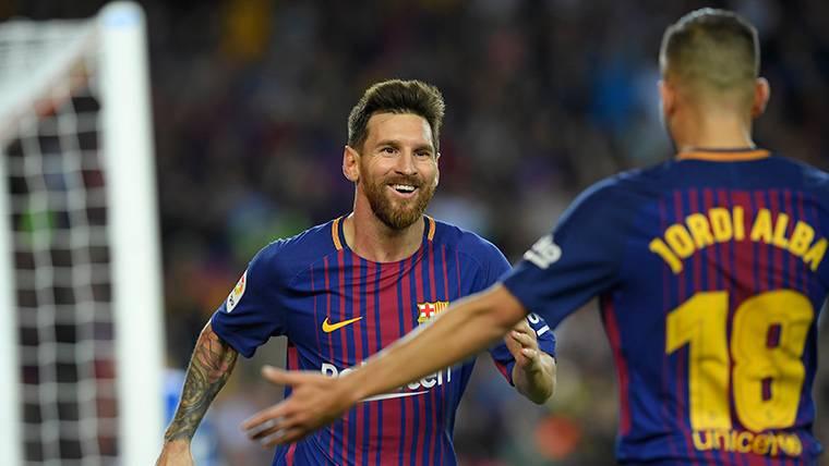 Messi y Jordi Alba, la conexión letal del Barça de Valverde
