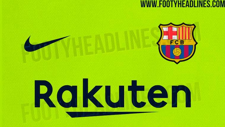 La segunda equipación del Barça 2018-19 podría volver al verde