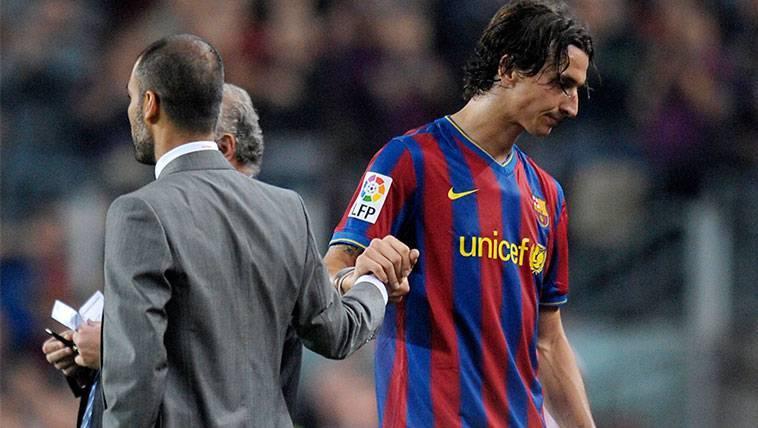 Zlatan Ibrahimovic resucita su enfrentamiento con Guardiola
