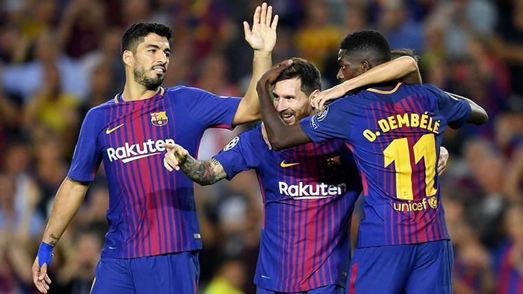 El FC Barcelona puede ser letal al contraataque con Dembélé