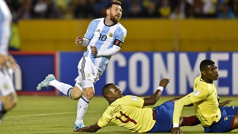La noche que Messi se convirtió en el gran héroe de Argentina