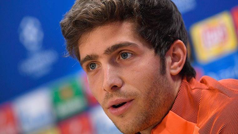 Sergi Roberto espera una llamada del Barça para renovar