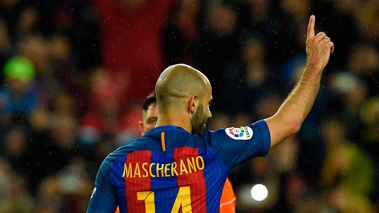 Mascherano se recupera y podrá jugar contra el Deportivo
