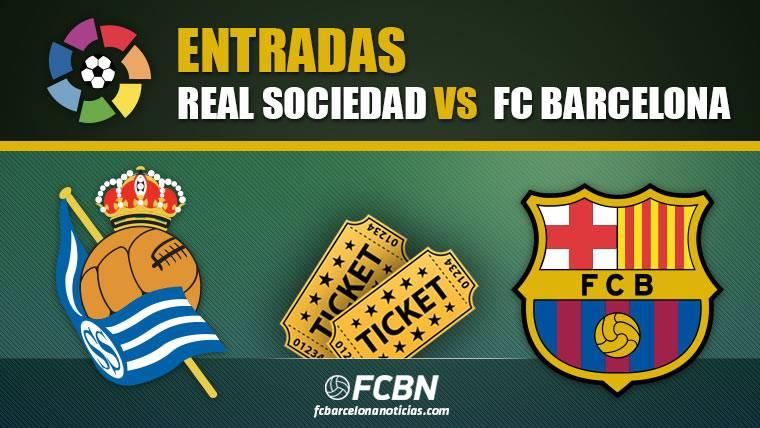 Entradas Real Sociedad vs FC Barcelona