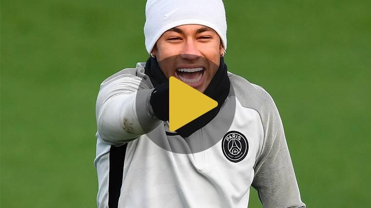 El Barça, presente en el 'amigo invisible' solidario de Neymar
