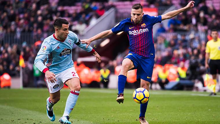Jordi Alba, pletórico: el defensa más ofensivo de la Liga