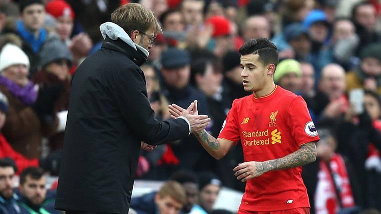 Klopp se rinde y enfada a Coutinho, al Liverpool... Y a 'Mou'