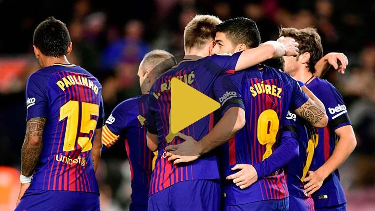 Vídeo resumen: FC Barcelona 4 Deportivo 0 (LaLiga J16)