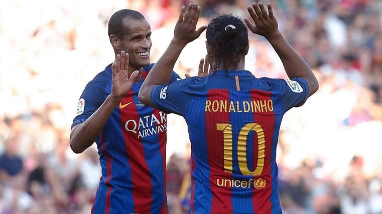 Rivaldo se moja sobre el Clásico y habla de Messi y Cristiano