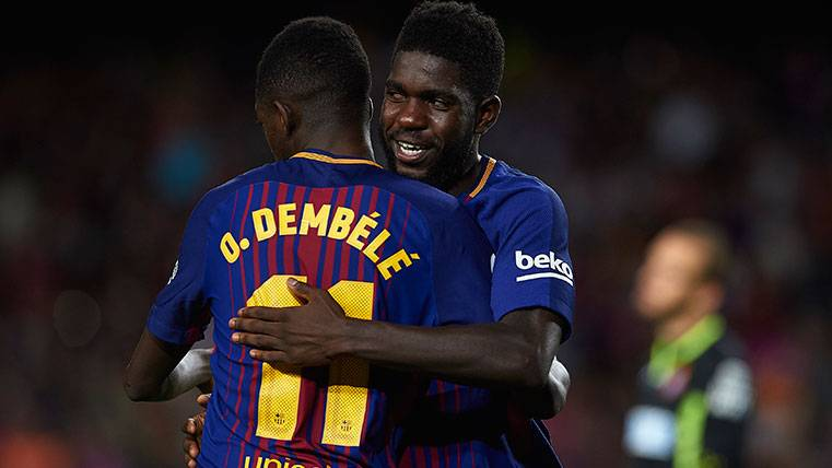 This Barça works... And still they are missing him Dembélé and Umtiti