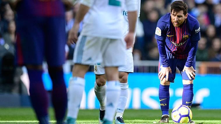 Leo Messi fue capaz de dominar el Clásico... ¡Caminando!