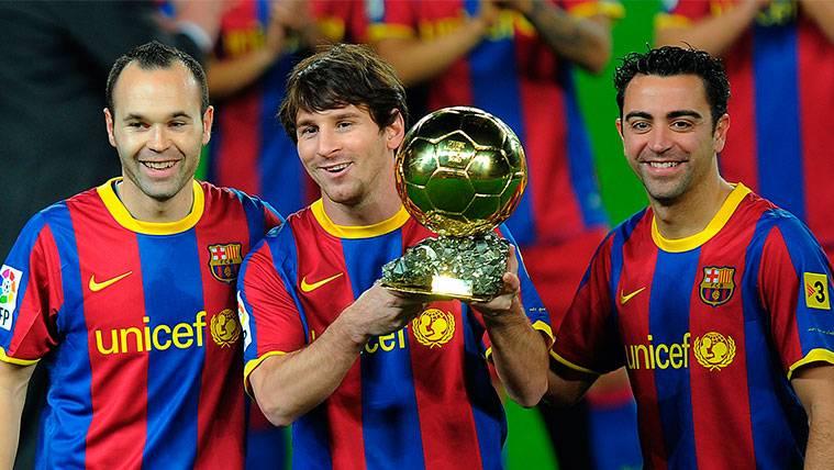 ¿Cómo podrían tener Xavi e Iniesta dos Balones de Oro?