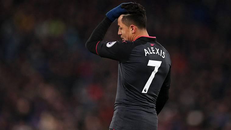 El complicado problema de Alexis Sánchez en el Arsenal