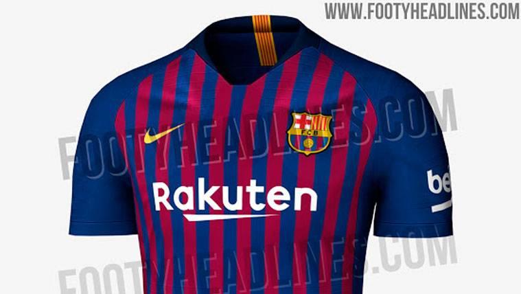 La primera equipación del Barça 2018-19, al descubierto