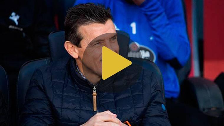 """Unzué avisa al Barça con una """"presión alta para incomodar"""""""