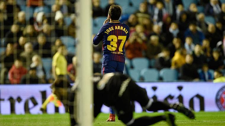 Arnáiz, tres de tres y la afición le quiere en el primer equipo