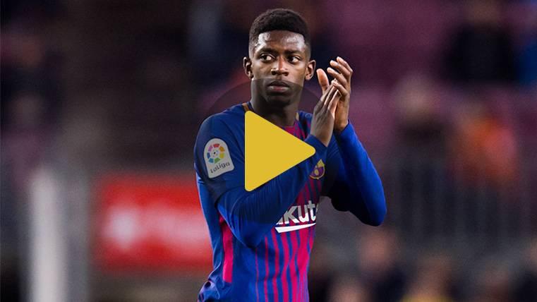 """Dembélé: """"Entiendo la filosofía del Barça y puedo dar más"""""""