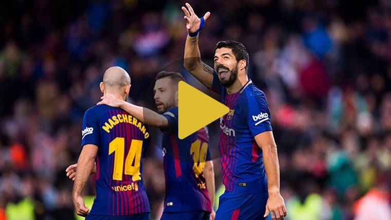 Suárez supera a Eto'o en la lista de goleadores del Barça