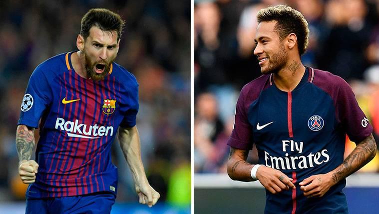 Neymar, el más valorado del mundo por delante de Messi