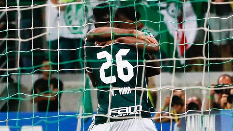 Yerry Mina se suma al lío del dorsal: El suyo no está disponible