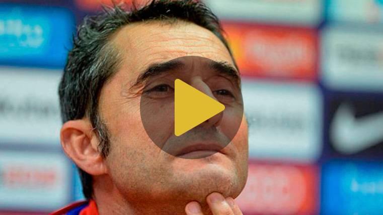 """Valverde: """"La ventaja es mínima. Saldremos a ganar el partido"""""""
