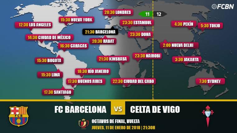 Cuándo y dónde ver el FC Barcelona vs Celta de Vigo