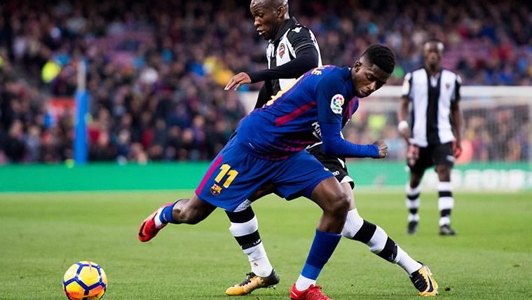 De titular en Liga al banquillo: A Dembélé le toca descansar