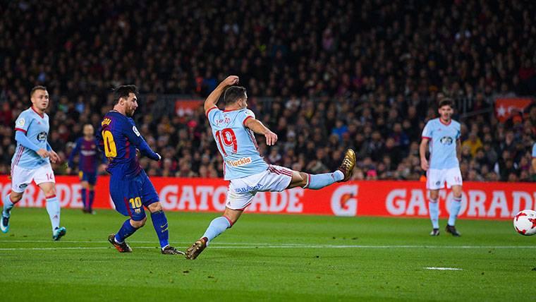 ¡Doblete mágico de Messi en 2 minutos gracias a Jordi Alba!