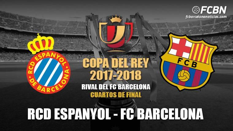 El Espanyol, rival del FC Barcelona en cuartos de final de Copa del Rey