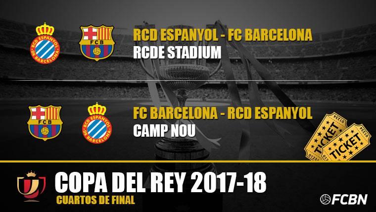 Entradas FC Barcelona vs Espanyol - Copa