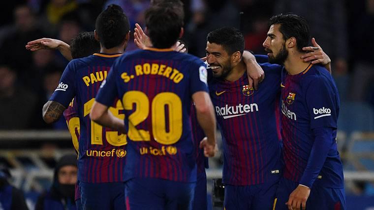 El Barça consumó la remontada gracias a un Suárez insaciable