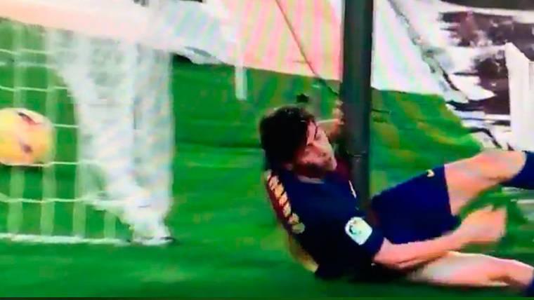 SUSTO: El duro golpe de Sergi Roberto cuando marcó Suárez