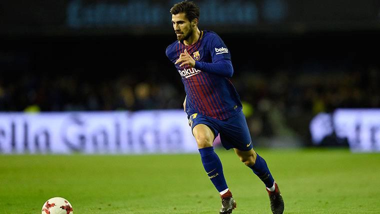 André Gomes fue el único que desentonó en el FC Barcelona