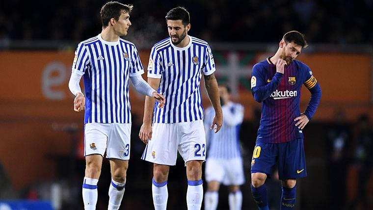 Tremendos elogios del capitán de la Real Sociedad a Messi
