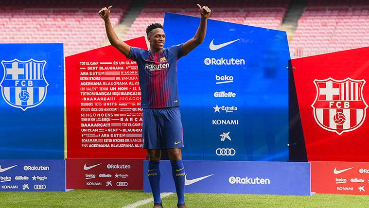 The Plan Of The Barca For Yerry Mina Without Hastes With The Central