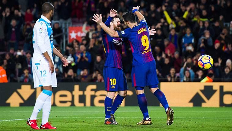 Leo Messi y Luis Suárez ya son la mejor dupla de Europa