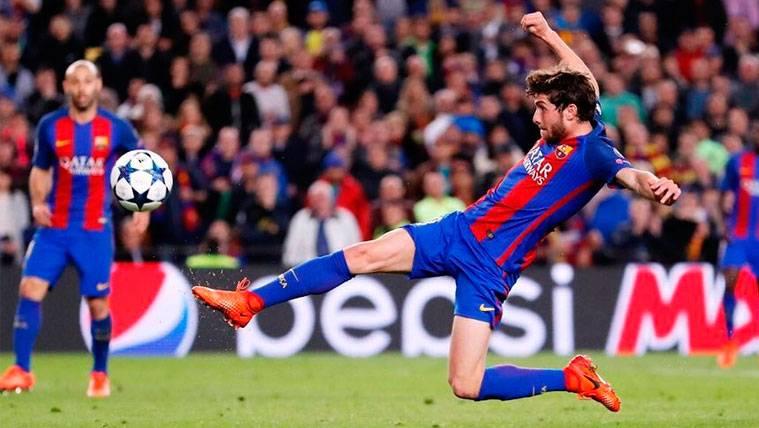 La remontada del Barça contra el PSG opta a un premio