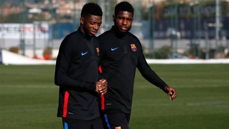 Primer contacto del Barça para la renovación de Samuel Umtiti