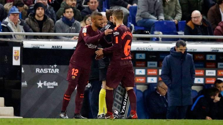 290 días después, Rafinha volvió a jugar con el FC Barcelona