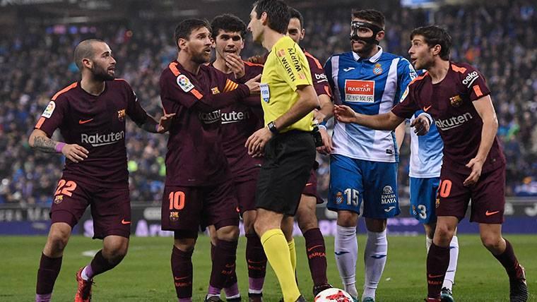 ¡El Espanyol reconoce que Aarón mereció ser expulsado!