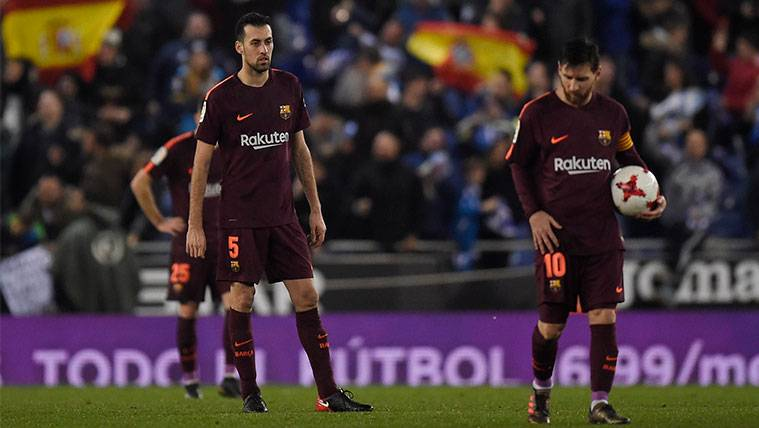 Busquets lanza un mensaje optimista y apela al Camp Nou